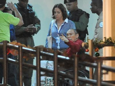 Nach über 20 Jahren in Gefängnissen in den USA und Frankreich wurde Panamas ehemaliger Machthaber Noriega an seine Heimat ausgeliefert. Dort erwartet ihn ebenfalls eine lange Haftstrafe. Foto: Rodrigo Arangua