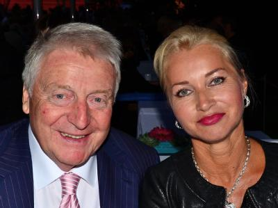 Egon Geerkens und seine Frau Edith beim Sommerfest des Bundespräsidenten im Schloss Bellevue. Foto:AEDT.de