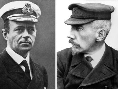 Amundsen und Scott
