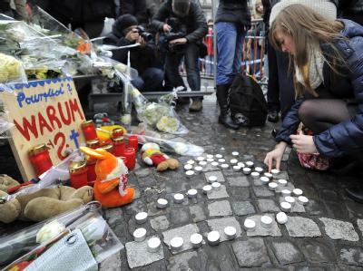 Trauer in Lüttich