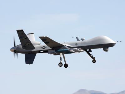 Eine amerikanische Drohne vom Typ MQ-9 Reaper. Foto: U.S. Air Force/Paul Ridgeway