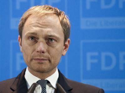 Der scheidende FDP-Generalsekretär Christian Lindner. Foto: Robert Schlesinger