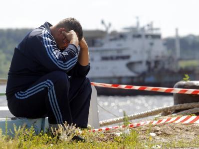 122 Tote bei Schiffsungl�ck auf der Wolga