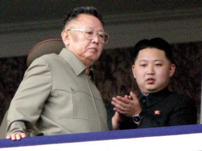 Vater und Sohn Kim