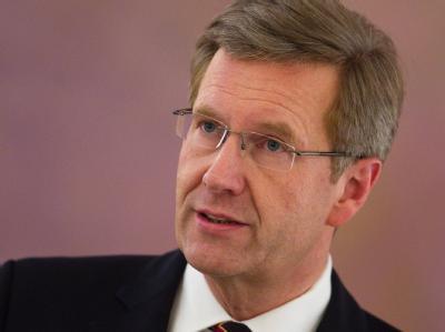 Wulff sagte, er verstehe die Irritationen, die sein Privatkredit bei einem niedersächsischen Unternehmer ausgelöst hatte. Foto: Michael Kappeler
