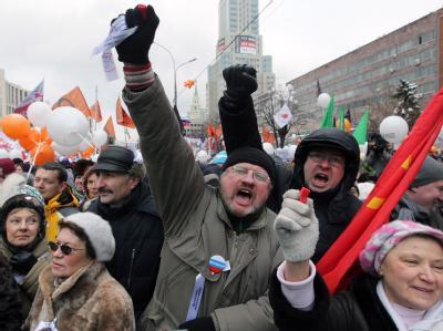 Wut in Moskau