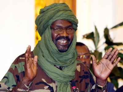 Khalil Ibrahim, Anführer der sudanesischen Rebellengruppe «Bewegung für Gerechtigkeit und Gleichheit» (JEM). Foto:str/Archiv