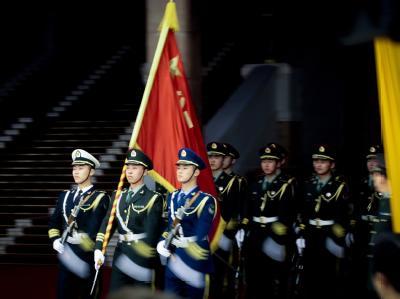 Ehrengarde in Peking