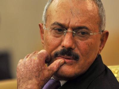 Will bald wieder in den Jemen zurückkehren: Präsident Ali Abdullah Salih. Foto: Yahya Arhab