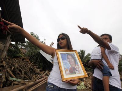 Allein auf der Insel Mindanao waren 891 Menschen ums Leben gekommen, als mit dem Tropensturm «Washi» Sturzfluten hereinbrachen. Foto: Francis R. Malasig