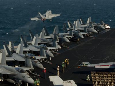 Flugdeck der «USS John C. Stennis» . Foto: U.S. Navy/ Mass Communication Specialist 3rd Class Kenneth Abbate