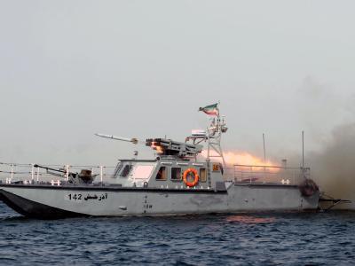 Im Rahmen seiner Seemanöver hat der Iran auch Raketen gestestet. Foto: Ali Mohammadi/ Archiv