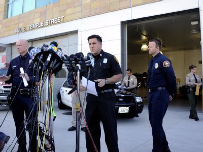 Die Feuerwehr in Los Angeles gibt die Festnahme eines Deutschen als mutmaßlicher Serienbrandstifter bekannt. Foto: Paul Buck