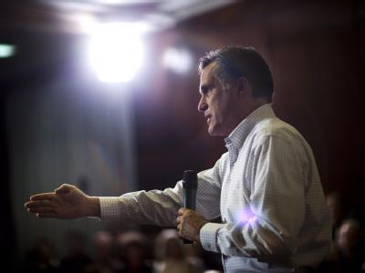Mitt Romney im Wahlkampf