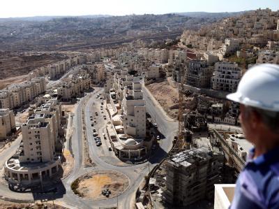 Neubauten der jüdischen Siedlung Har Homa in Ost-Jerusalem. Foto: Abir Sultan/Archiv