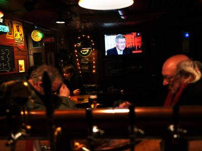 TV- Interview Bundespräsident Wulff
