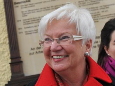 Die Vorsitzende der CSU-Landesgruppe im Deutschen Bundestag, Gerda Hasselfeldt. Foto: Andreas Gebert