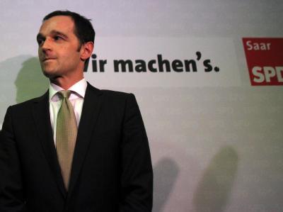 Auf dem Weg in die Regierungsverantwortung: Der Landes- und Fraktionsvorsitzende der SPD im Saarland, Heiko Maas. Foto: Fredrik von Erichsen