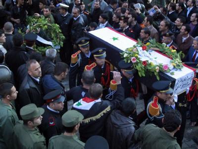 Beisetzung in Damaskus