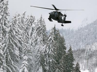 Hubschrauber-Einsatz