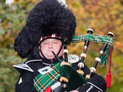 Dudelsackpfeifer: Dem Vereinigten Königreich droht ein Zacken aus der Krone zu brechen - ein gewaltiger. Schottland, seit über 300 Jahren mit England zwangsvereinigt, strebt nach Unabhängigkeit. Foto: Miss World LTD