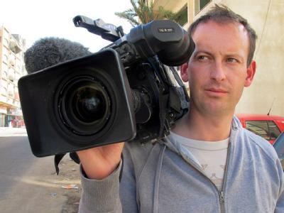 Der französische Journalist Gilles Jacquier kam in der syrischen Stadt Homs ums Leben. Foto: epa/France 2
