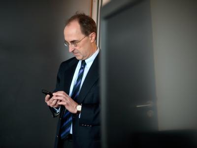 Gernot Lehr, der Anwalt von Bundespräsident Christian Wulff. Foto: Jörg Carstensen