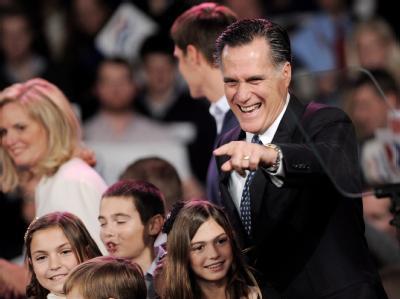 Mitt Romney hat die US-Vorwahl in Iowa doch nicht gewonnen. Foto: Justin Lane/Archiv
