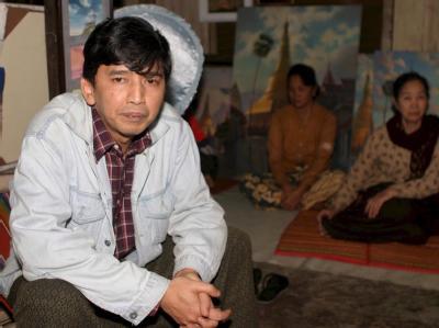 Freigelassen: Min Ko Naing war Mitgründer der Studentenbewegung, die 1988 einen blutig niedergeschlagenen Aufstand begann. Foto: Law
