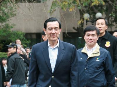 Die Taiwanesen wählten Ma Ying-jeou mit einer klaren Mehrheit erneut zum Präsidenten. Foto: David Chang