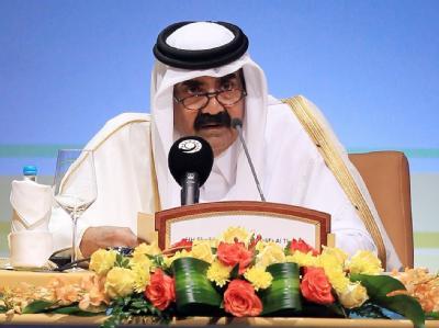 Der Emir von Katar, Scheich Hamad bin Chalifa al-Thani. Foto: STR/Archiv