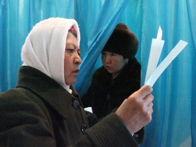 Wahl in Kasachstan