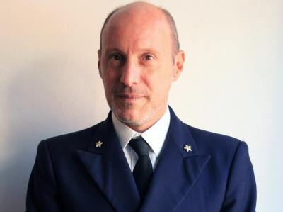 Der italienische Kommandant Gregorio De Falco. Foto: Ansa