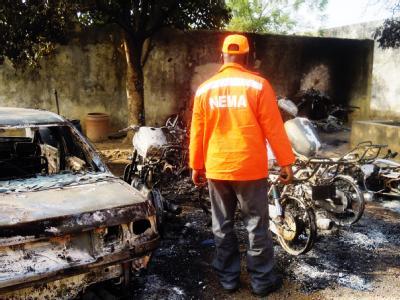 Die nigerianische Stadt Kano ist von verheerenden islamistischen Terroranschlägen heimgesucht worden. Foto: Aminu Abubakar, AFP
