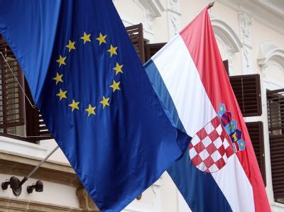 Kroatiens Bürger haben Ja zum EU-Beitritt gesagt. Das Adrialand wird damit im Sommer 2013 das 28. Mitglied der Europäischen Union. Für die EU selbst ist das ja der Kroaten eine «gute Nachricht». Foto: Antonio Bat