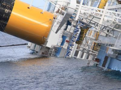 Das Wrack der «Costa Concordia»