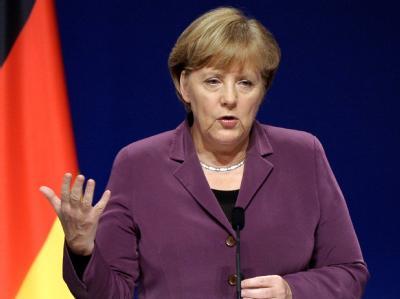 Ist gegen eine Erhöhung des Rettungsschirm-Kapitals: Bundeskanzlerin Angela Merkel. Foto: Christophe Karaba/Archivbild