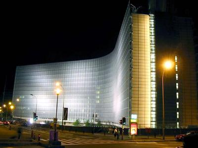 Das Brüsseler Berlaymont-Gebäude, Sitz der Europäischen Kommission. Fotos: arte France