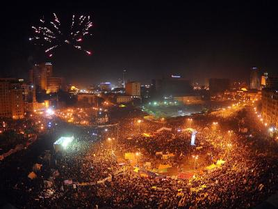Jahrestag der Revolution: Tausende auf Tahrir-Platz