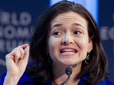 Sandberg in Davos