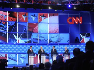 Auch bei der letzten TV-Debatte vor den Vorwahlen in Florida gab es keinen eindeutigen Sieger oder Verlierer. Foto: Brian Blanco
