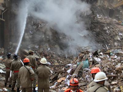 Am vergangenen Mittwoch waren drei Häuser in Rio de Janeiro, darunter eines mit 20 Stockwerken eingestürzt.