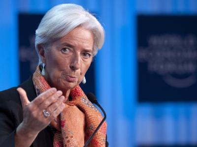 «Die Eurozone muss dringend eine Brandmauer gegen Finanzmarkt-Attacken errichten.»: IWF-Chefin Christine Lagarde. Foto: Laurent Gllieron