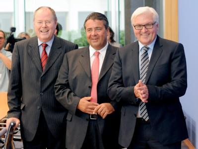 Mit der Troika gegen Merkel