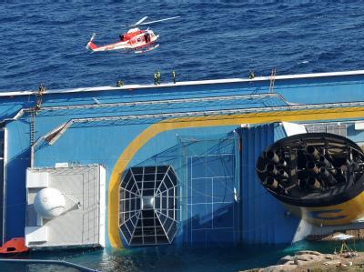 Das Kreuzfahrtschiff «Costa Concordia». Foto: Luca Zennaro