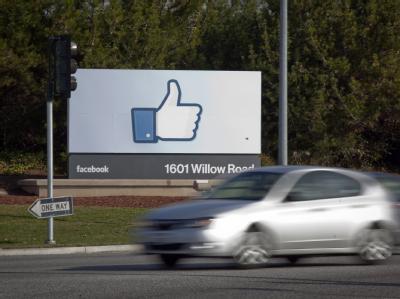 Facebook in Menlo Park, Kalifornien. Foto: Peter DaSilva