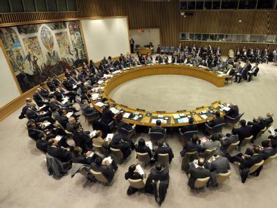 Sitzung des UN-Sicherheitsrates zu Syrien