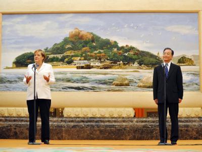 Merkel reist nach China