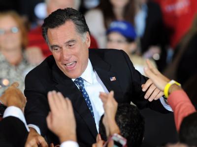 Mitt Romney hat bei den Republikaner-Vorwahlen in Florida rund 46 Prozent der Stimmen erzielt. Foto: Erik S. Lesser