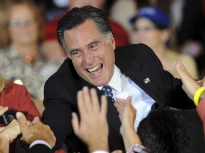 Mitt Romney befindet sich nach der Florida-Vorwahl auf Siegeskurs. Foto: Erik S. Lesser